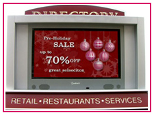 Shopping Center Digital Signage Directory