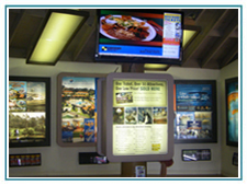 Retail In-Store Marketing Communication eBoard Signage